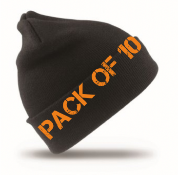 Result RC029 Woolly Ski Beanie Hat (10 PACK)